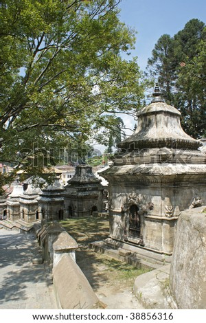 A part of the Hindu temple of Pashupatinath in Kathmandu