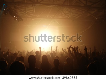 a party - stock photo