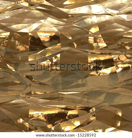 A pattern of a metal foil seamless - stock photo