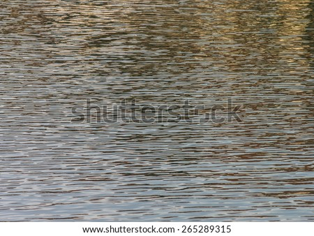 A peaceful abstract shot of a body of water. - stock photo