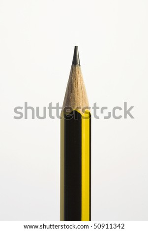 A pencil isolated on white background