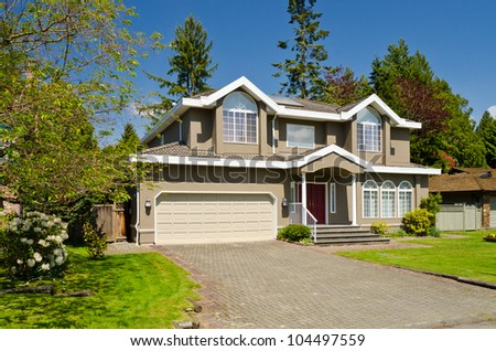 Super Exterior Of House Stock Photos Royalty Free Images Vectors Largest Home Design Picture Inspirations Pitcheantrous