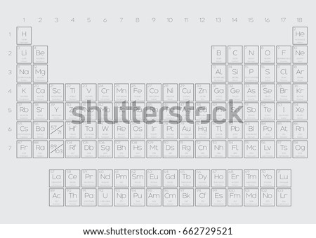 Periodic table elements illustration atomic number stock a periodic table of the elements illustration with atomic number symbol atomic weight and urtaz Images