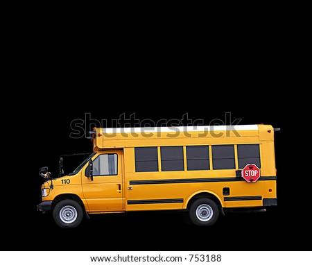 A photo of a school bus - stock photo