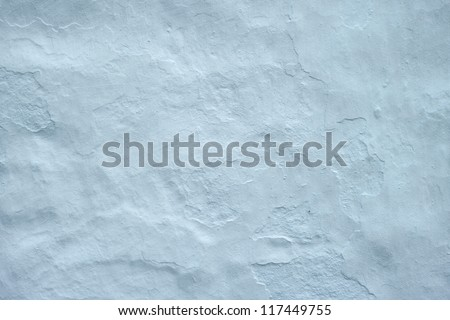 A photo of a White wall of an old church - stock photo