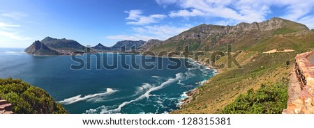 A photo of Coast near Cape Town - South Africa - stock photo