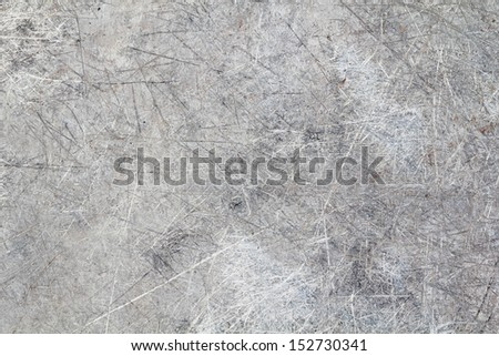 a photo of scratched metal for texture or background , grunge background - stock photo