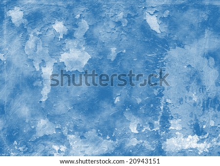 a photo of wall old paint - stock photo
