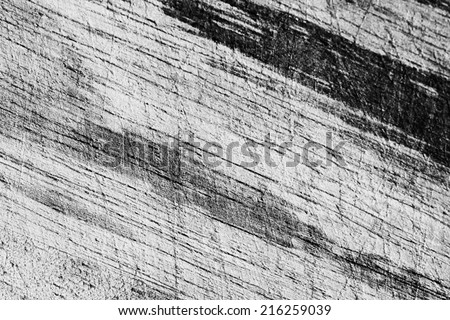 a photo of wood board scratched ,texture background - stock photo