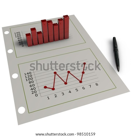 a pictogram for the field investor relation - stock photo