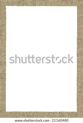 A picture frame on a white background.