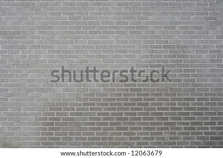 A picture of a brick wall. - stock photo