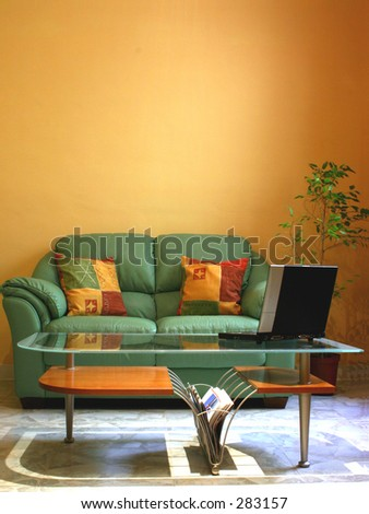 A picture of an interior suitable for the interior decorating sector