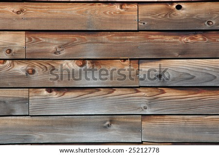 A piece of wooden board. - stock photo