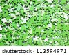 a pile of green puzzle, background - stock photo