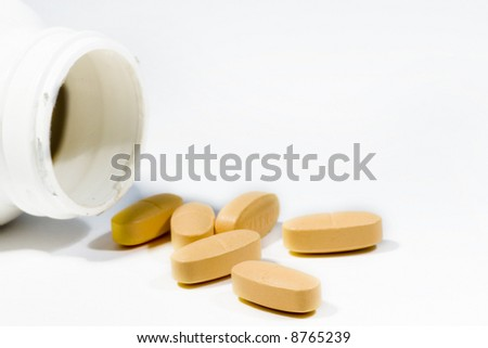 A pile of medicines