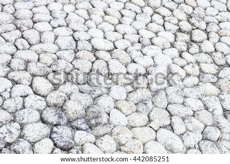 A pile of pebbles - stock photo
