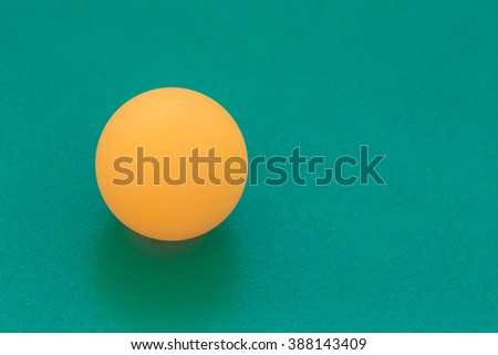 a ping-pong table - stock photo