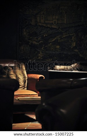 A place to sit... - stock photo