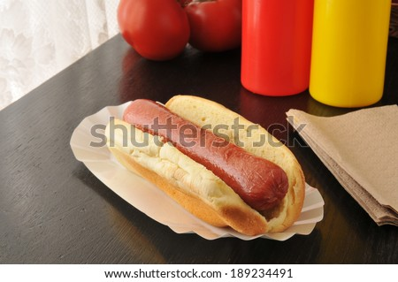Stock Images similar to ID 20521715 - hot dog with ...