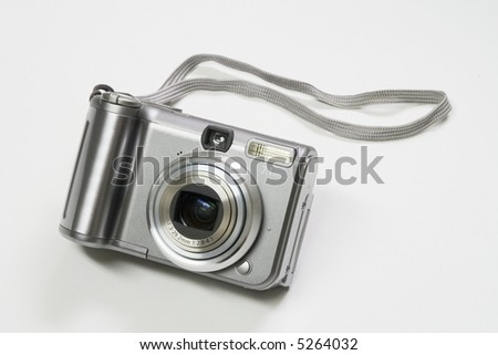 """A """"Point-and-Shoot"""" camera - stock photo"""