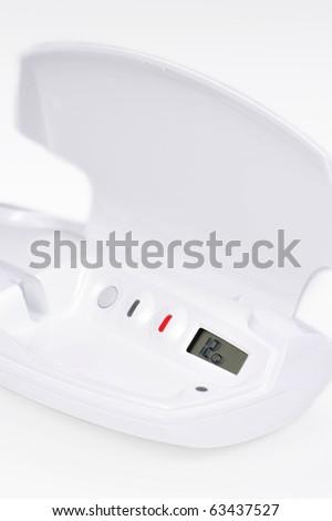 A positive digital ovulation test - stock photo