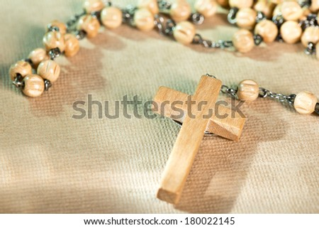 a prayer beads  - stock photo