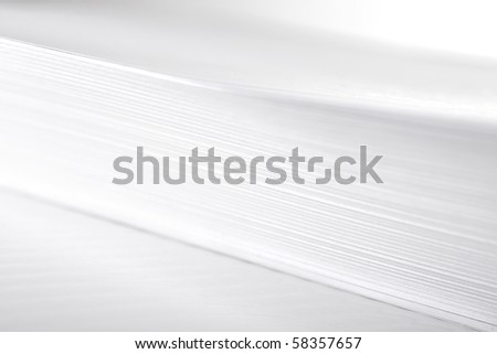 A4 printer paper. - stock photo