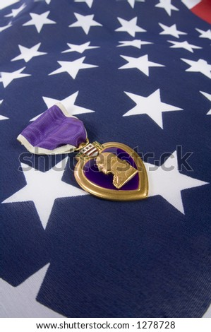 A Purple Heart 05 (memorial day series) - stock photo