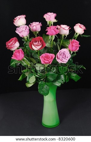 a put of roses - stock photo
