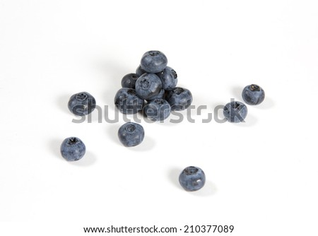 A pyramid of northern highbush blueberries
