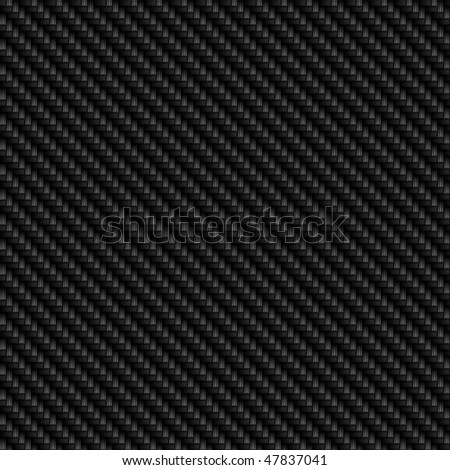 A realistic carbon fiber background that tiles seamlessly as a pattern in any direction,. - stock photo