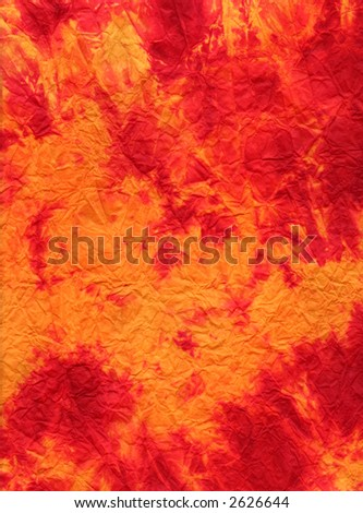 A red-golden texture - stock photo