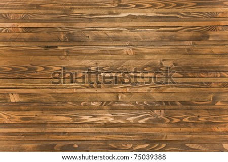 A rough wooden plank background - stock photo