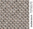 A scaly snake skin texture that tiles seamlessly as a pattern in any direction. - stock photo