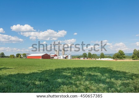 A scenic, rural landscape image near Seneca Lake in the Finger Lakes region of upstate New York.