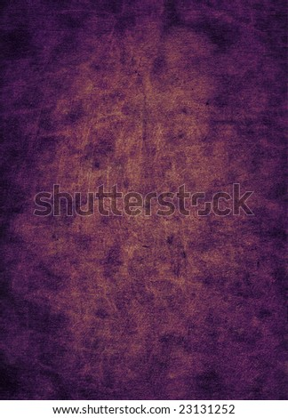 A scratched purple leather surface, suitable as a background texture. - stock photo