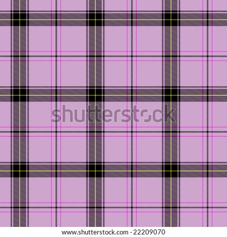 a seamless pattern of some pink scottish tartan
