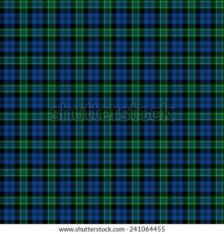 A seamless patterned tile of the clan Arbuthnott tartan. - stock photo