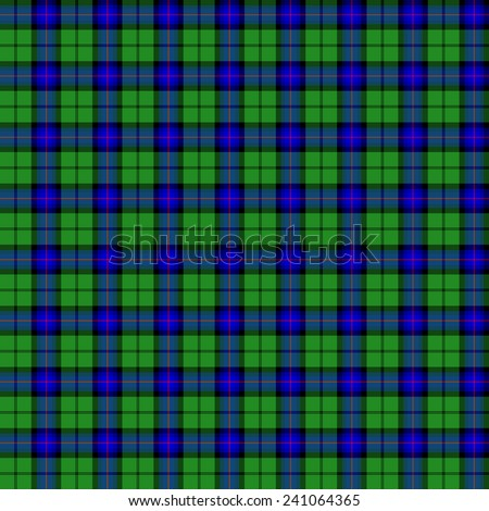 A seamless patterned tile of the clan Armstrong tartan. - stock photo