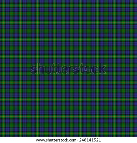 A seamless patterned tile of the clan Gordon tartan. - stock photo