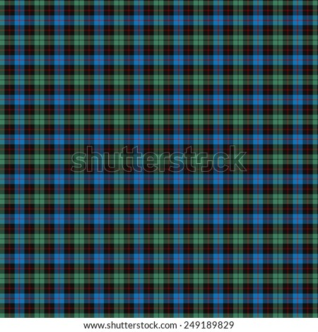 A seamless patterned tile of the clan Guthrie tartan. - stock photo