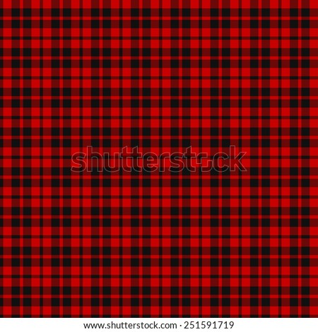 A seamless patterned tile of the clan Hog tartan. - stock photo