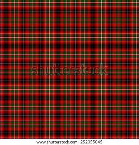 A seamless patterned tile of the clan Innes of Moray tartan. - stock photo