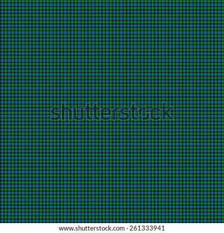 A seamless patterned tile of the clan Lamont tartan. - stock photo