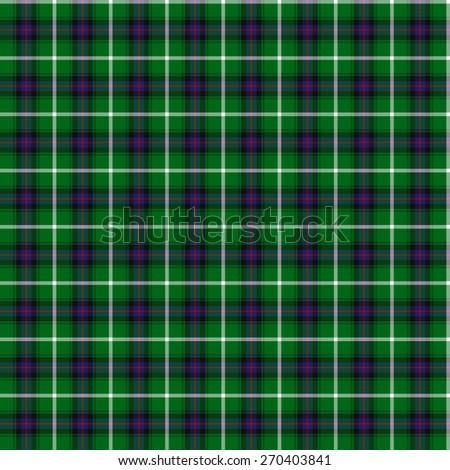 A seamless patterned tile of the clan McAulay tartan. - stock photo