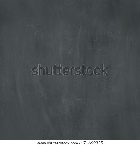 A seamlessly repeatable dusty chalkboard texture. Raster. - stock photo