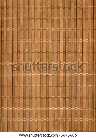 A section of bamboo - stock photo