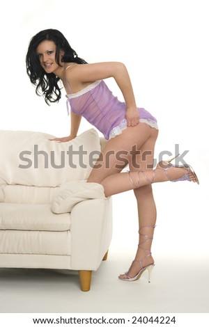 A sexy woman - stock photo