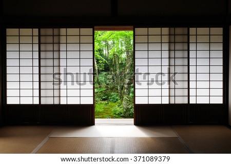 A shoji - stock photo